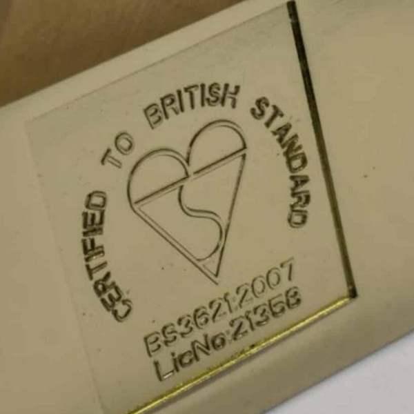 British Standard BS3621 certified